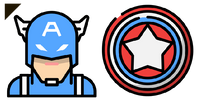Superhero Captain America