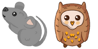 Mouse and owl